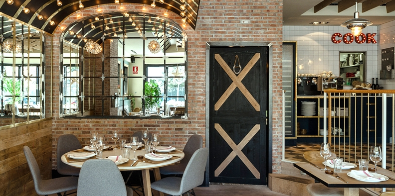 Guito's Scandinavian Design Restaurant in Madrid